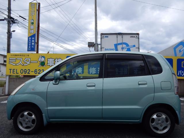 日産 モコ Q タイヤ新品交換 バッテリー新品交換 タイミングチェーン