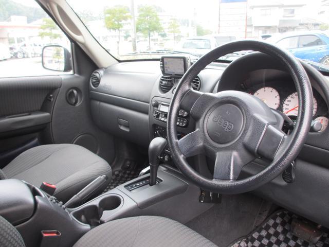 クライスラー・ジープ クライスラージープ チェロキー スポーツ 4WD アルミ ETC キーレス ナビ