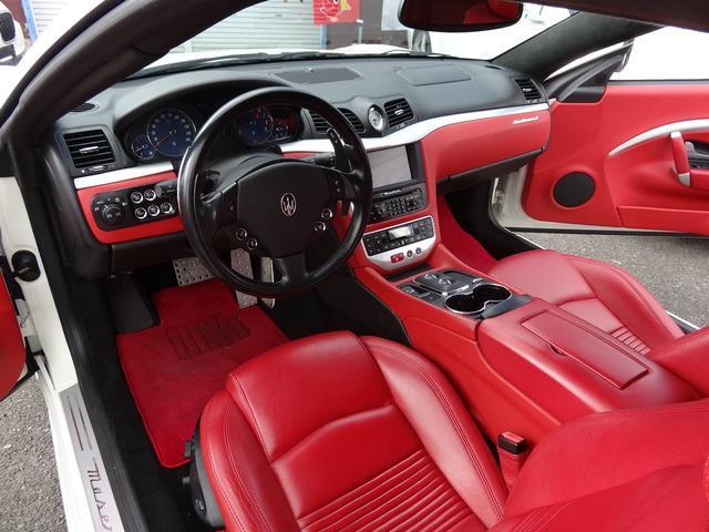 S MCシフト4.7 赤革コーンズディーラー車 可変マフラー(13枚目)
