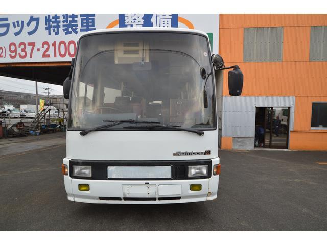 29人乗り 中型バス 冷房エンジン エアサス(2枚目)
