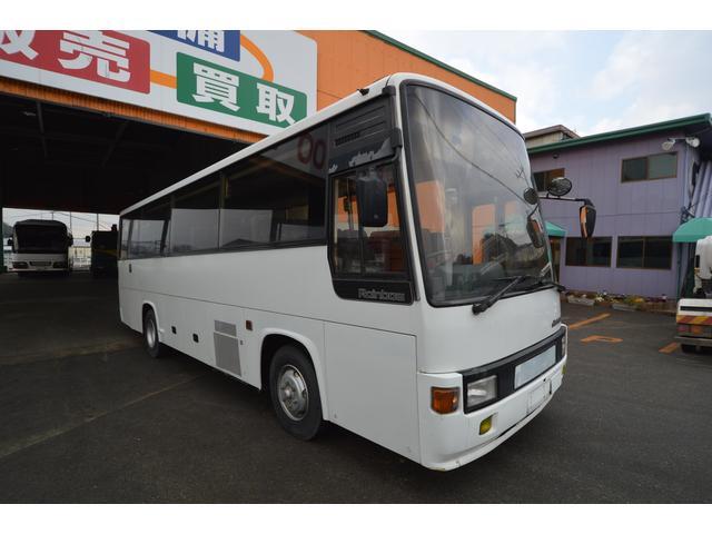 29人乗り 中型バス 冷房エンジン エアサス(3枚目)