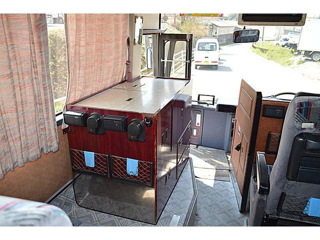 29人乗り 中型バス 冷房エンジン エアサス(9枚目)