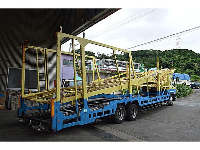 大型5台積積載車 燃料タンク2コ付 150L 100L(3枚目)