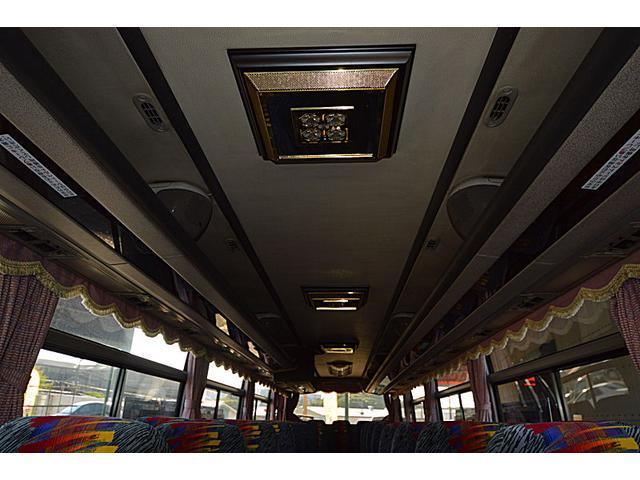 エアロバス55人乗り観光バス(11枚目)