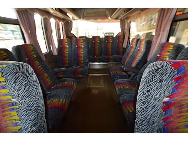 エアロバス55人乗り観光バス(13枚目)