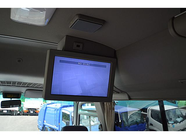 日野 リエッセII 29人乗りマイクロバス 8列シート テレビ 冷蔵庫 モケット