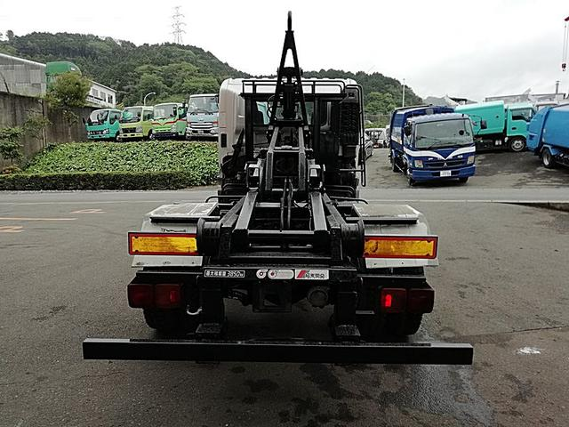 日野 レンジャー 4t脱着装置付フックロール 極東開発