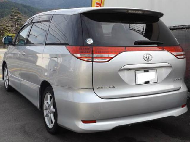トヨタ エスティマ アエラスGーED 両自動ドア HDDナビ 7人乗り 2年保証