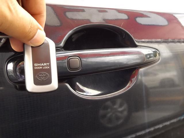 ☆ポケットやバッグにキーを入れたまま、ドアの解錠施錠ができるスマートキー付き!