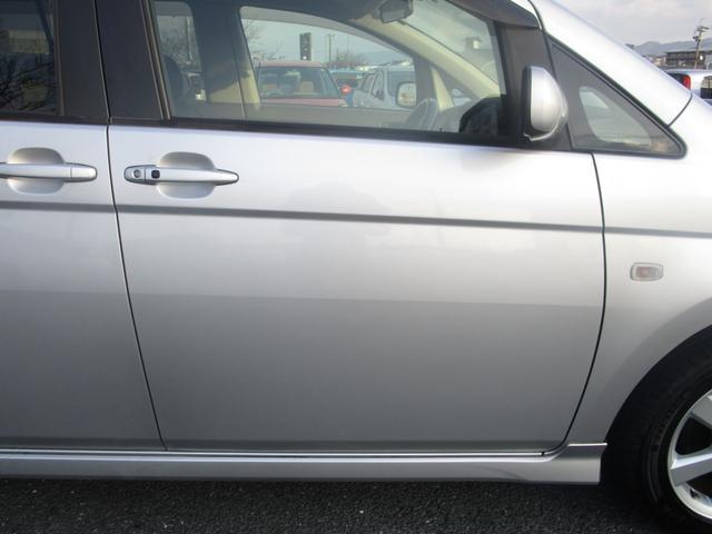 プラタナ 片側パワースライドドア フリップダウンモニター 社外メモリーナビ フルセグ DVD再生 CD Bluetooth ETC オートライト HID キーレス バックカメラ タイミングチェーン 7人乗り(24枚目)