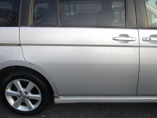 プラタナ 片側パワースライドドア フリップダウンモニター 社外メモリーナビ フルセグ DVD再生 CD Bluetooth ETC オートライト HID キーレス バックカメラ タイミングチェーン 7人乗り(25枚目)
