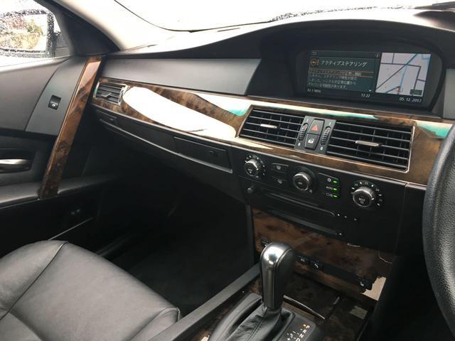 BMW BMW 530i サンルーフ 黒革シート プッシュスタート