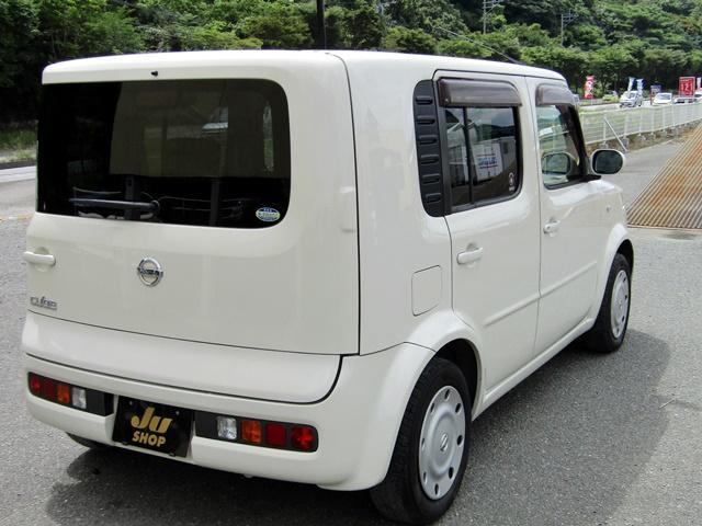 日産 キューブ SX 70th-II ベンチシート キーレス フォグ