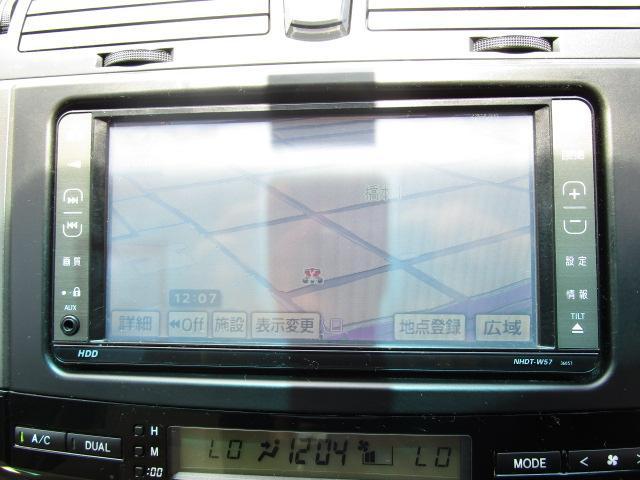 トヨタ マークX 250G HDDナビ DVD再生 スマートキー ETC