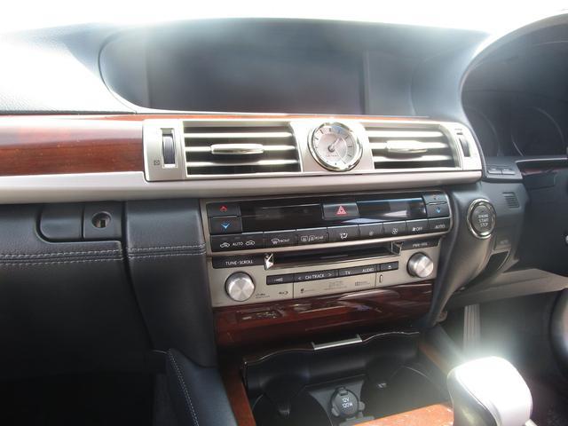 LS460L エグゼクティブパッケージ 後期 黒革シート リアエンターテイメント スマートキー 後席モニター 後席オットマン マークレビンソン SDナビ Bluetooth フルセグ DVD CD バックカメラ ETC 前席ドライブレコーダ(57枚目)