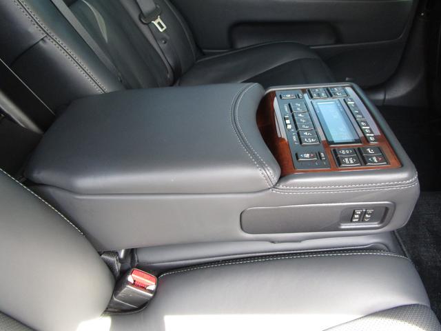 LS460L エグゼクティブパッケージ 後期 黒革シート リアエンターテイメント スマートキー 後席モニター 後席オットマン マークレビンソン SDナビ Bluetooth フルセグ DVD CD バックカメラ ETC 前席ドライブレコーダ(78枚目)