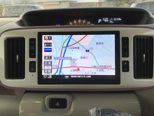 Gメイクアップ SAIII 両側パワースライドドア スマートキー メモリーナビ地デジTV(3枚目)