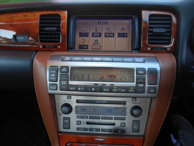 トヨタ ソアラ 430SCV 茶革チート DVDナビ 社外アルミ HID