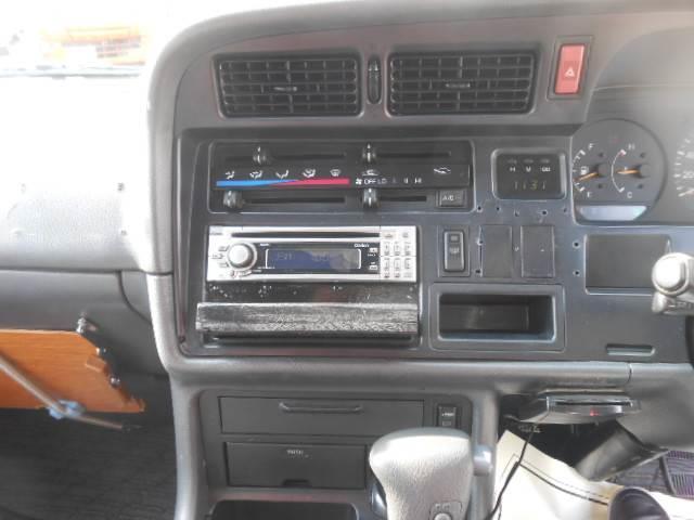 トヨタ ハイエースワゴン 3000 スーパーカスタム ETC 片側スライドドア CD