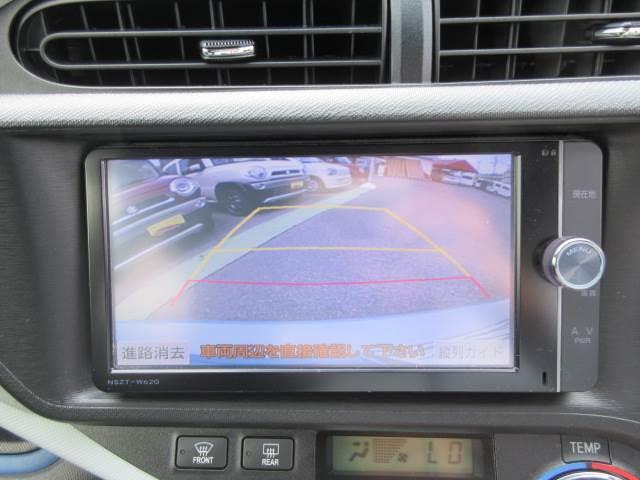 トヨタ アクア S 禁煙車 HDDナビ バックカメラ ETC DVD再生