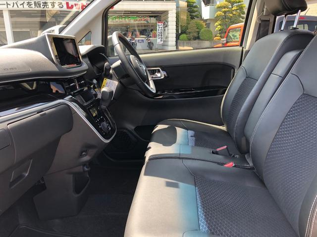 カスタム RS ハイパーリミテッドSAIII 5年保証付 衝突被害軽減ブレーキ LEDライト オートライト オートマチックハイビーム ハーフレザーシート シートヒーター アイドリングストップ スマートキー プッシュスタート 純正アルミホイール(10枚目)