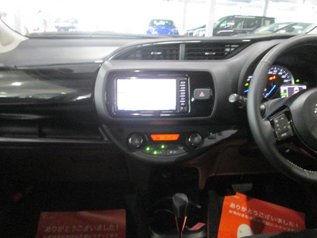 トヨタ ヴィッツ ハイブリッドU SDナビ ワンセグ バックカメラ ETC
