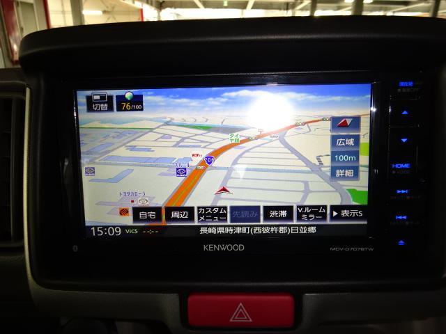 PZターボスペシャル 届出済未使用車 メモリーナビ フルセグ バックカメラ 両側パワースライド オートステップ HID キーフリー 純正アルミ セーフティサポート(9枚目)