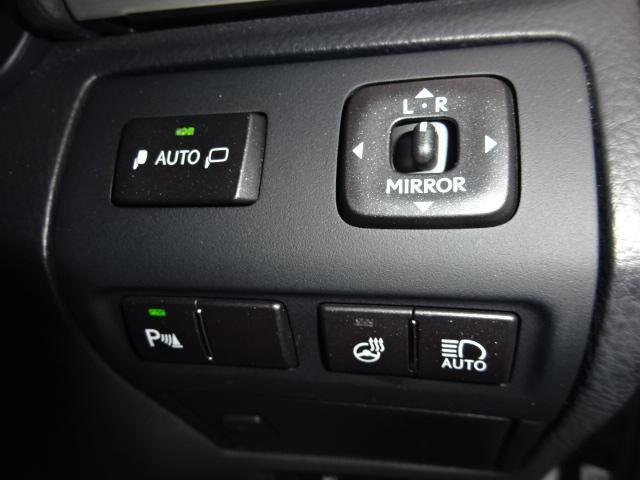 LS460 Fスポーツ HDDナビ フルセグ バックカメラ サンルーフ 黒革シート シートヒーター シートクーラー ステアヒーター ETC HID ソナー スマートキー 純正19アルミ クルーズコントロール(11枚目)