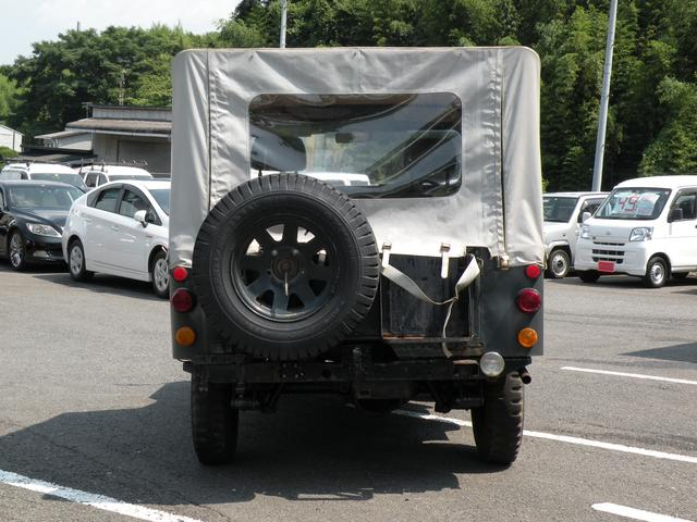 三菱 ジープ キャンバストップ 幌新品 メンテナンス済 シート張替え済