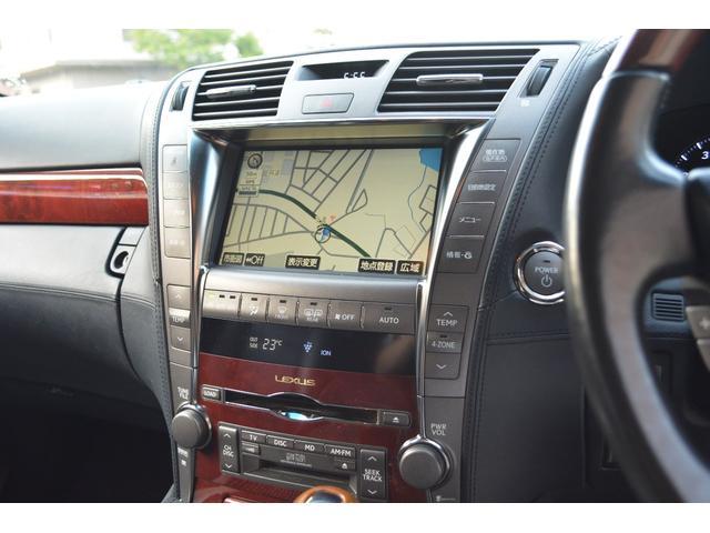 LS600hL後席セパレートシートパッケージ(10枚目)