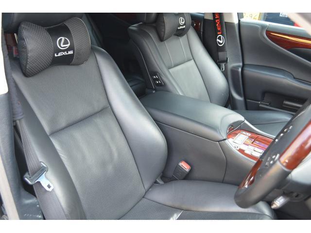 LS600hL後席セパレートシートパッケージ(13枚目)