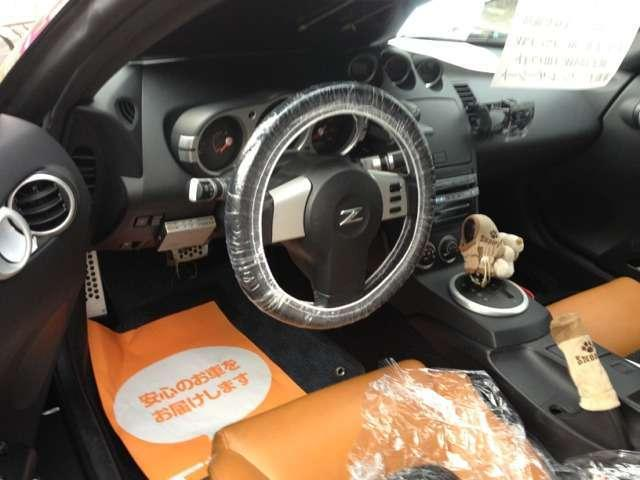 米国日産 フェアレディ Z 3.5 ロードスター 左ハンドル レザーシート 社外ナビ