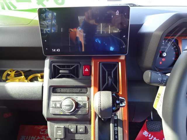 Gターボ 保証付 衝突被害軽減ブレーキ ガラスルーフ センターディスプレイ 全方位カメラ オートライト スマートキー プッシュスタート アイドリングストップ シートヒーター ベンチシート 電動格納ミラー(6枚目)