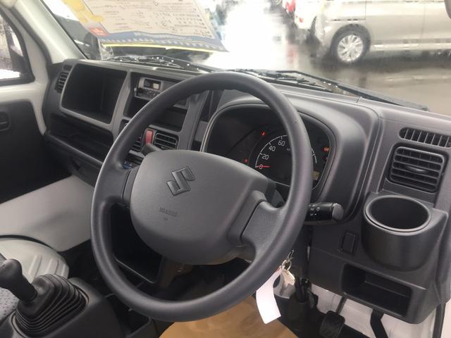 スズキ キャリイトラック KC 届出済未使用車 4WD 5MT AC PS