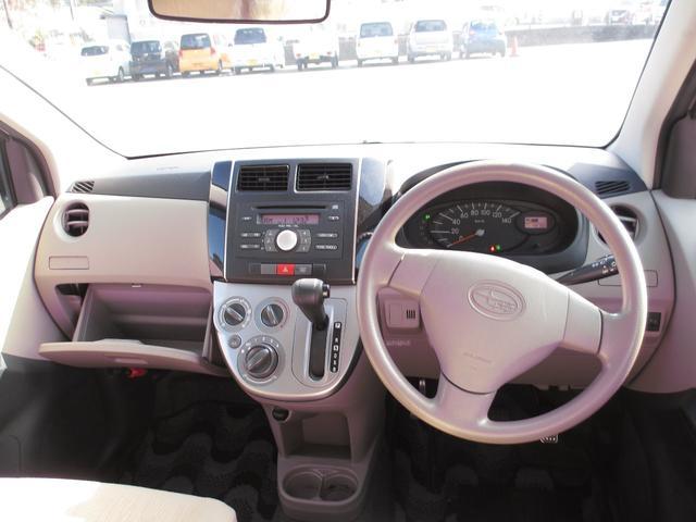 L キーレス 純正CDオーディオ 盗難防止システム 運転席エアバッグ 助手席エアバッグ ABS エアコン パワステ パワーウィンドウ 衝突安全ボディ インパネCVT(10枚目)