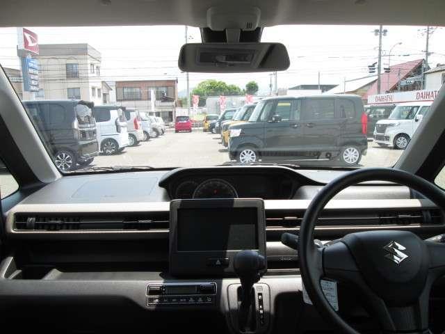 ハイブリッドFX 保証付 届出済未使用車 禁煙車 衝突被害軽減ブレーキ レーンアシスト アイドリングストップ クリアランスソナー ベンチシート シートヒーター スマートキー 整備点検記録簿付(12枚目)