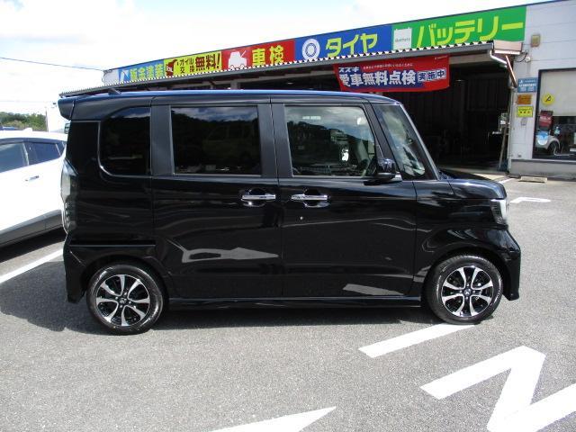 ホンダ N BOXカスタム G・Lホンダセンシング 新型 ナビドラレコ付
