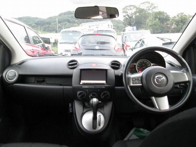 マツダ デミオ 13C-V スマートエディション 外SDナビ・ETC