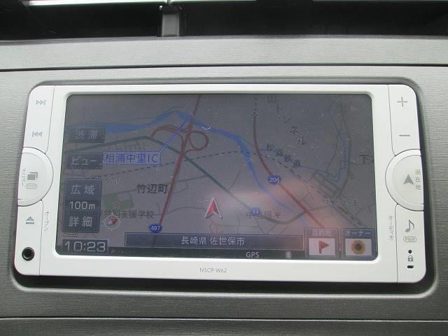 トヨタ プリウス 1.8S 後期モデル・純SDナビ