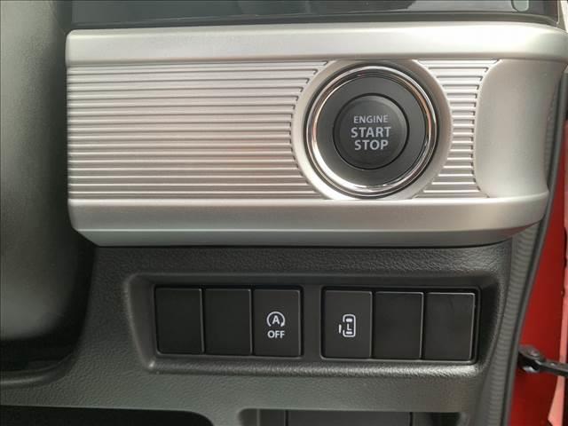 ハイブリッドGS アイドリングストップ スマートキー プッシュスタート 盗難防止付きシステム 電動スライドドア 純正アルミホイール ベンチシート LEDヘッドライト 衝突被害軽減システム レーンアシスト シートヒーター(13枚目)