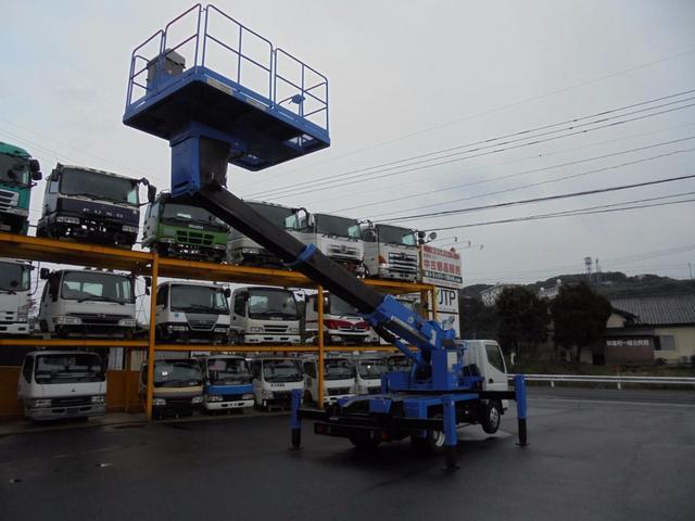 三菱ふそう キャンター 高所作業車 9.9m スカイマスター