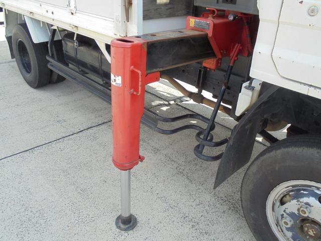 トヨタ ダイナトラック 2t 3段クレーン付 高床 ワイドロング