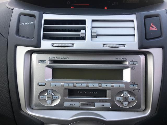 トヨタ ヴィッツ 外装現状 CD Wエアバッグ