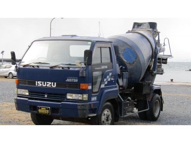 いすゞ フォワードジャストン コンクリートミキサー車 カヤバ製 5MT