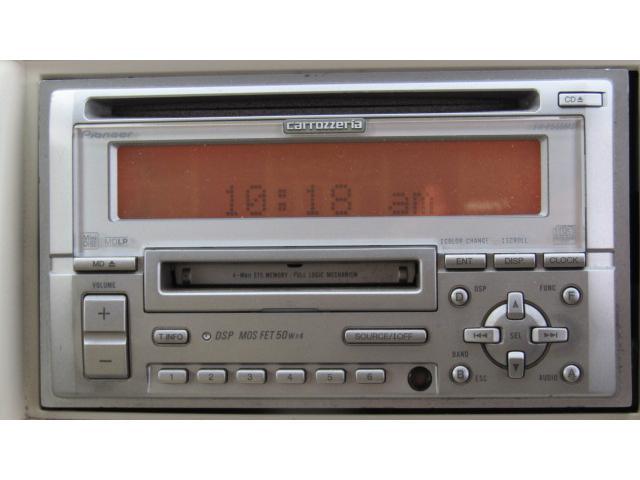 スズキ MRワゴン Mエディション 社外デッキ CD MD