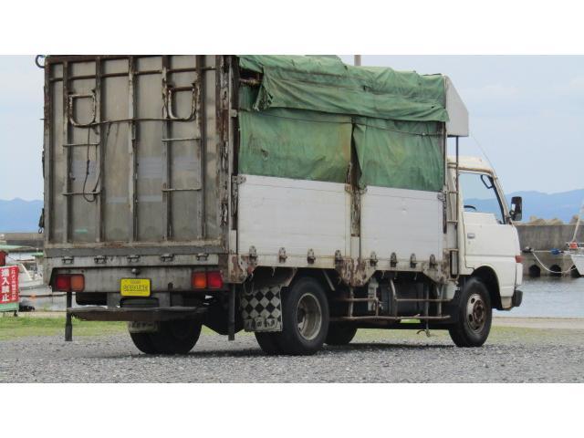 日産ディーゼル コンドル 家畜運搬車 3t リア電動ゲート