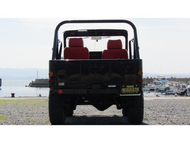 三菱 ジープ 4WD ビキニトップ付 シャックル公認 ETC