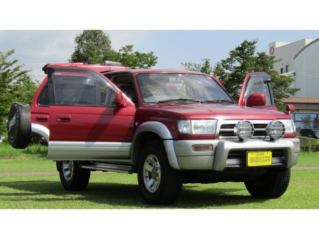 「トヨタ」「ハイラックスサーフ」「SUV・クロカン」「長崎県」の中古車18