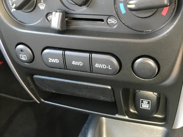 クロスアドベンチャーXA 5MT 4WD 社外AW(18枚目)