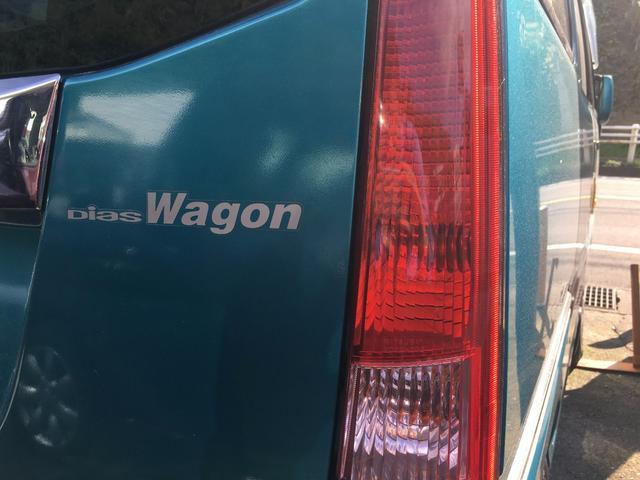 スバル ディアスワゴン スーパーチャージャー 両側スライドドア キーレス CD